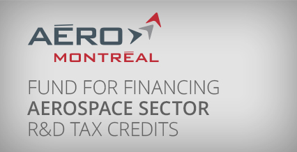 Fund for financing aerospace sector R&D tax credits